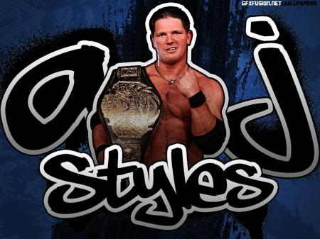 AJ styles Wallpaper