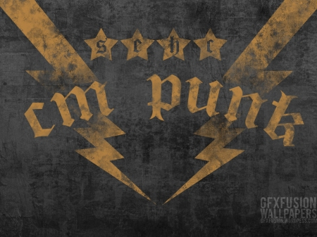 CM punk top rope wallpaper