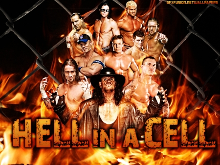 Hell In a Cell Wallpaper