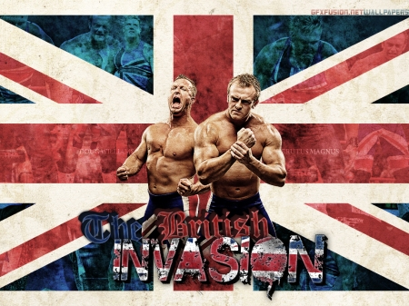 The British Invasion Wallpaper