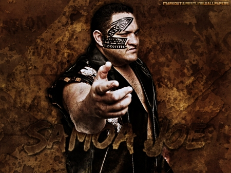 Samoa Joe Wallpaper