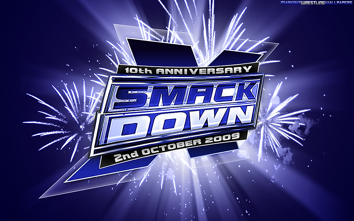WWE Smackdown 10th Anniversary Wallpaper