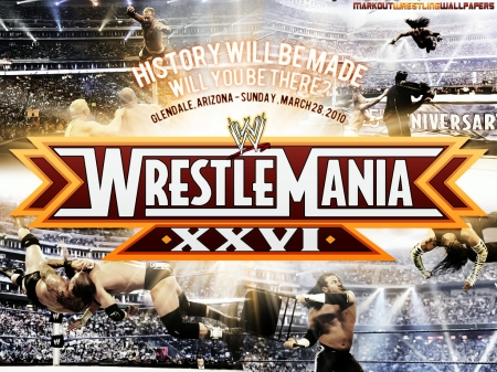 Wrestlemania Wallpaper