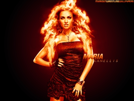 Maria Kanellis Wallpaper