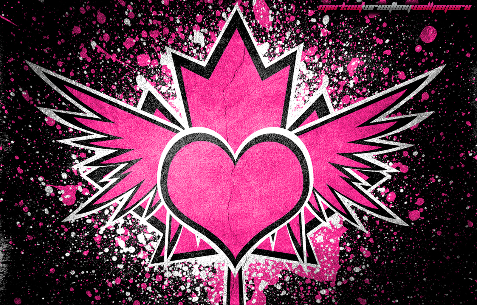 WWE Hart Emblem Wallpaper